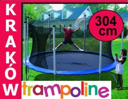 TRAMPOLINA 304cm 10FT SIATKA,DRABINA MODEL 2017
