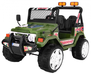 AUTO na AKUMULATOR JEEP RAPTOR DRIFTER STRONG 2.4Ghz 2x45W + POKROWIEC + TABLICE