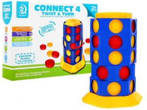 Gra logiczna CONNECT 4 – TWIST & TURN Line Up 5777-27