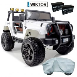 DWUOSOBOWE AUTO NA AKUMULATOR JEEP 4x4 JEEP Monster JEEP MONSTER OF-ROAD 4x4 PLECAK GRATIS 1688