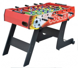 Table Football 121x61x81 Folding Red