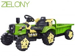 Tractor with battery trailer lights up PA0234 Red
