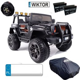 DWUOSOBOWE AUTO NA AKUMULATOR JEEP 4x4 JEEP Monster JEEP MONSTER OF-ROAD 4x4 PLECAK GRATIS