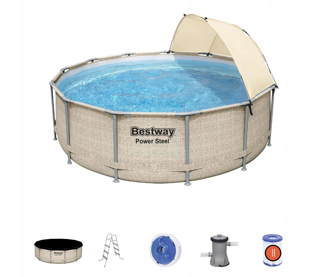 13w1 Pool Bestway Ratan 5614V 396x107 Pumps Visor